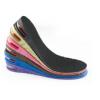 PVC内增高鞋垫隐形气垫男士女式PU舒适不累脚防臭全垫双层可调节