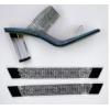 TPU胶片热切压钻石鞋面 鞋材鞋面定制