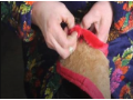 薇蓝鞋材 手工棉鞋帮半成品制作加工教程 (2播放)