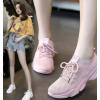 飞织镂空网面透气运动鞋女夏季2021新款韩版百搭学生休闲跑步鞋子